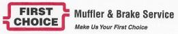 First Choice Muffler